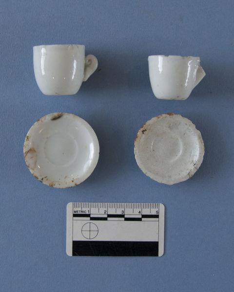 Toy tea set. Image. G. Jackson