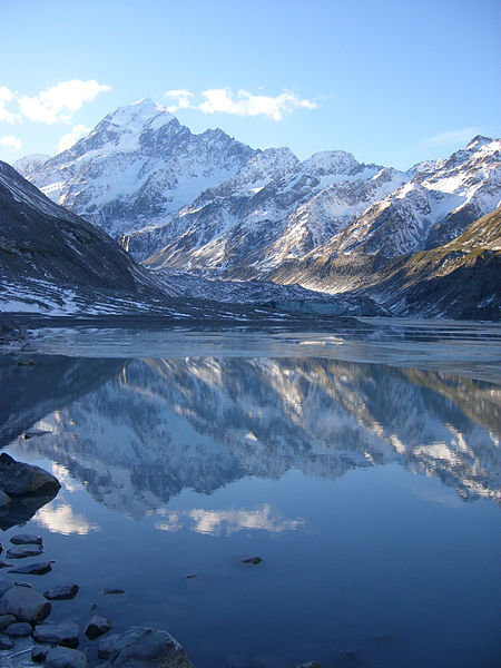 The stunning vista of Mt Cook, a prime spot for adventure tourism even in the 19th century. Image: C. M. Lynch.