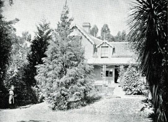 Violet Cottage, 1881. Image: Andersen 1949: 430.