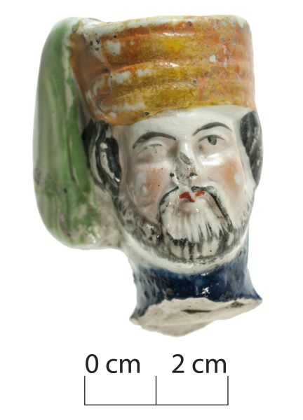 Then again, sometimes you get the head of a figurine wearing a fantastic
