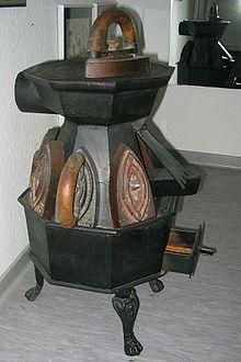 Figure 1. Flat iron stove. Image: Wikipedia.
