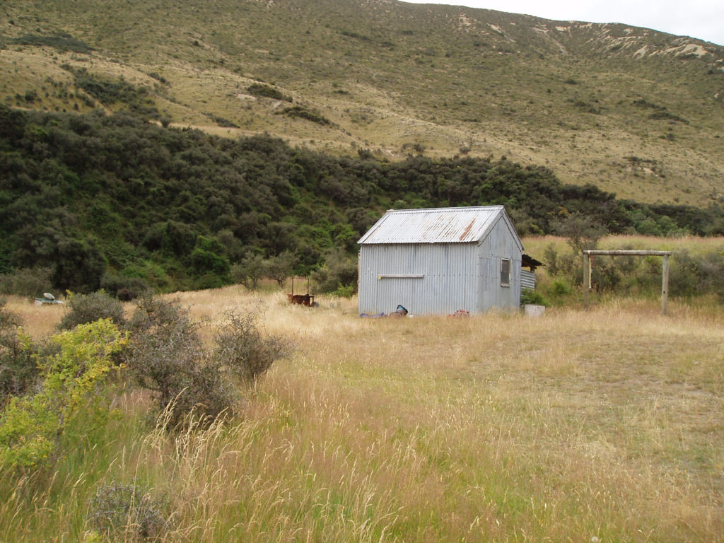 The 20th century hut at Scotty's camp. Image: K. Watson.