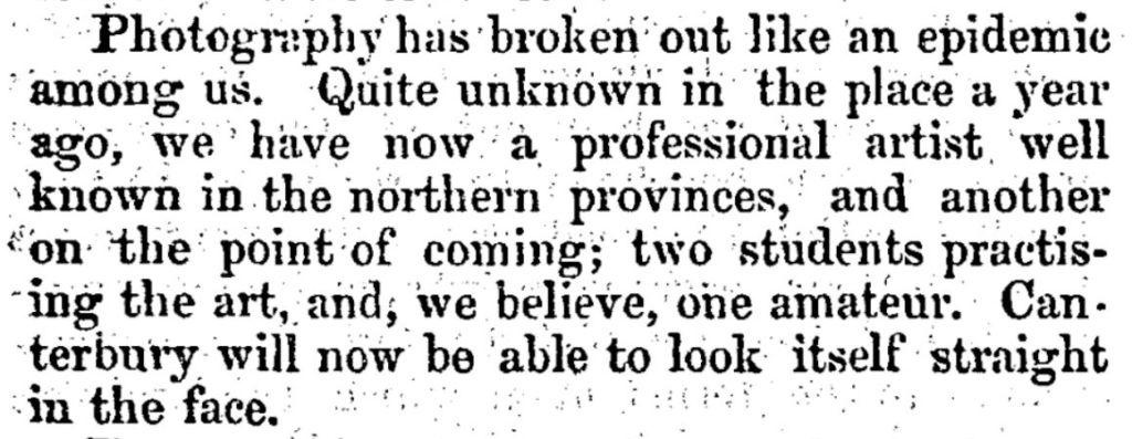 Lyttelton Times 9/5/1857: 8.