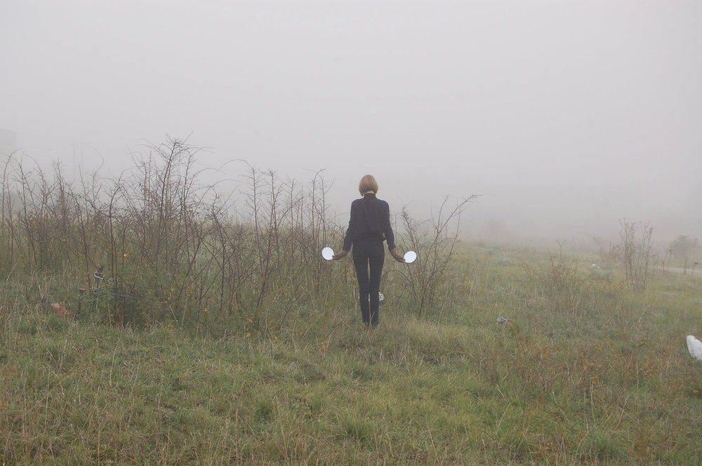 Fog Signal , performance documentation, digital photograph, 2015
