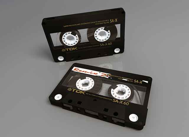 Format Conversion - Converting audio and DAT cassettes and to a high quality digital format allows for playback on non-specific players.