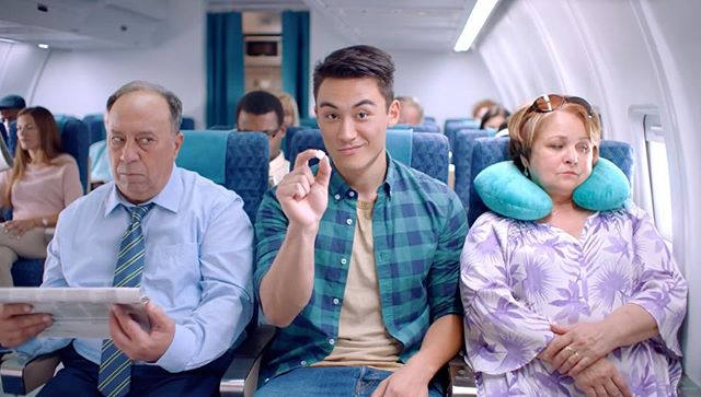 Listerine Global Campaign  on air everywhere now 🌎✈️ . . . . . . . #listerine #jwt #partizan #stillking #prague #commercial #shooting #cinematography #arrialexa #ad #advertising #plane