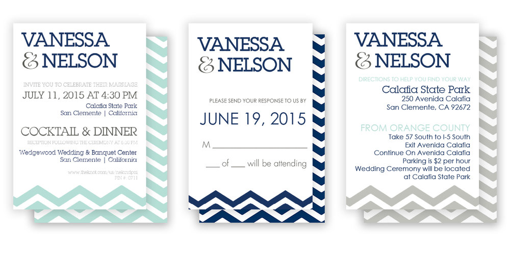 Nel and Van Wedding Set