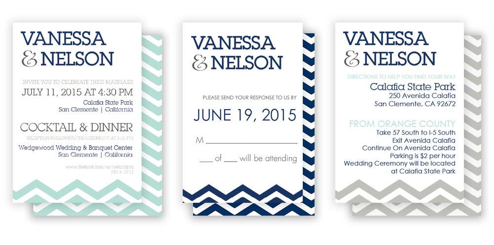 Nel and Van Wedding Set