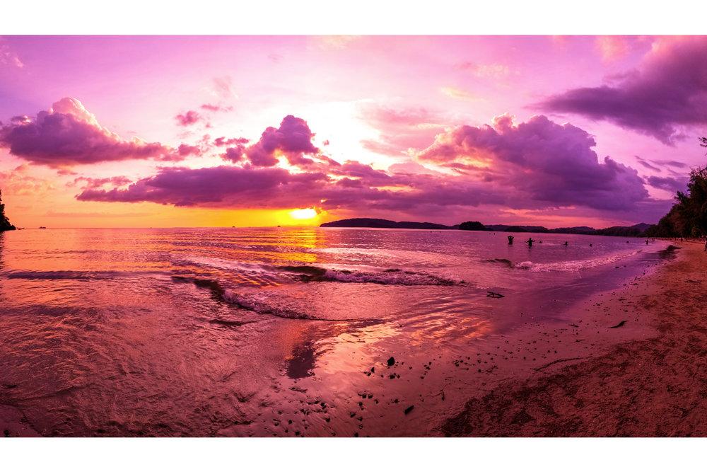 Thailand Krabi Sunset (Ao Nang)