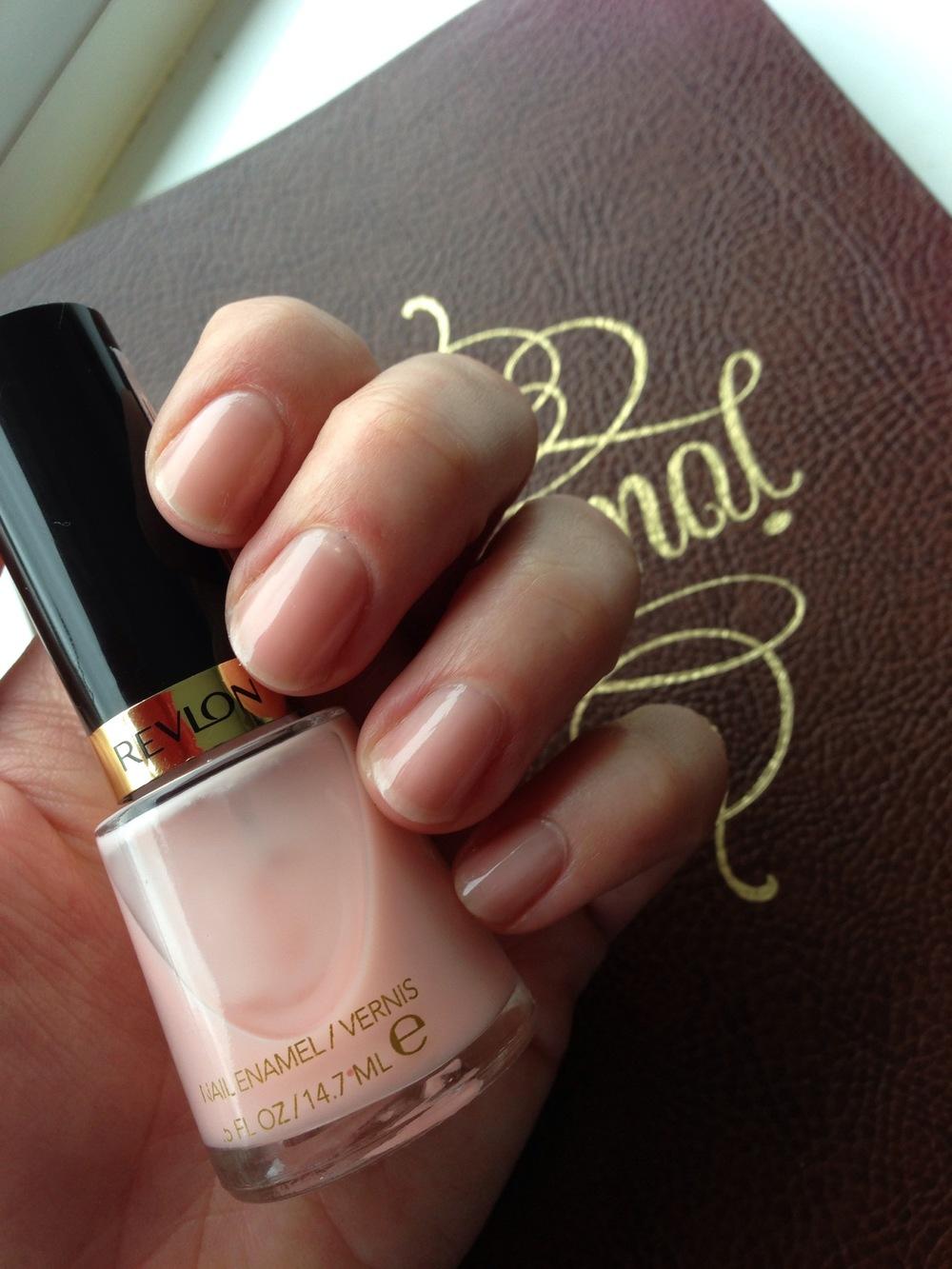 Revlon Pink Nude swatch