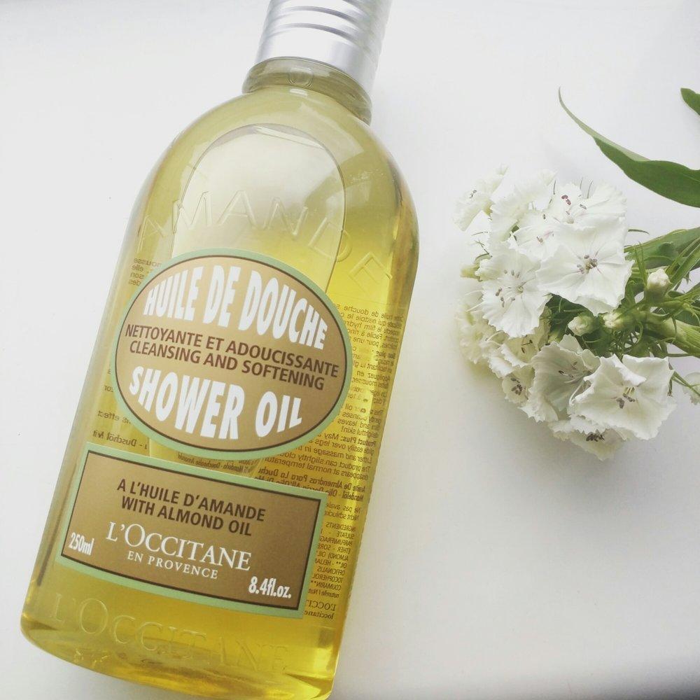 L'Occitane Shower Oil Amande