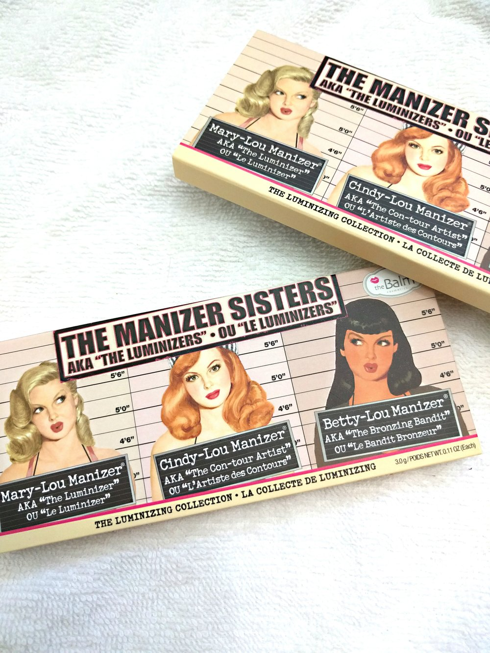 The Manizer sisters packaging image