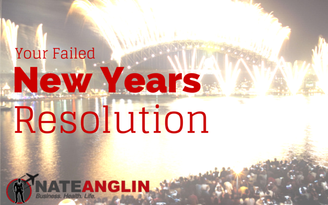 Your Failed New Years Resolution