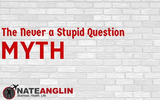 The Never a Stupid Question Myth
