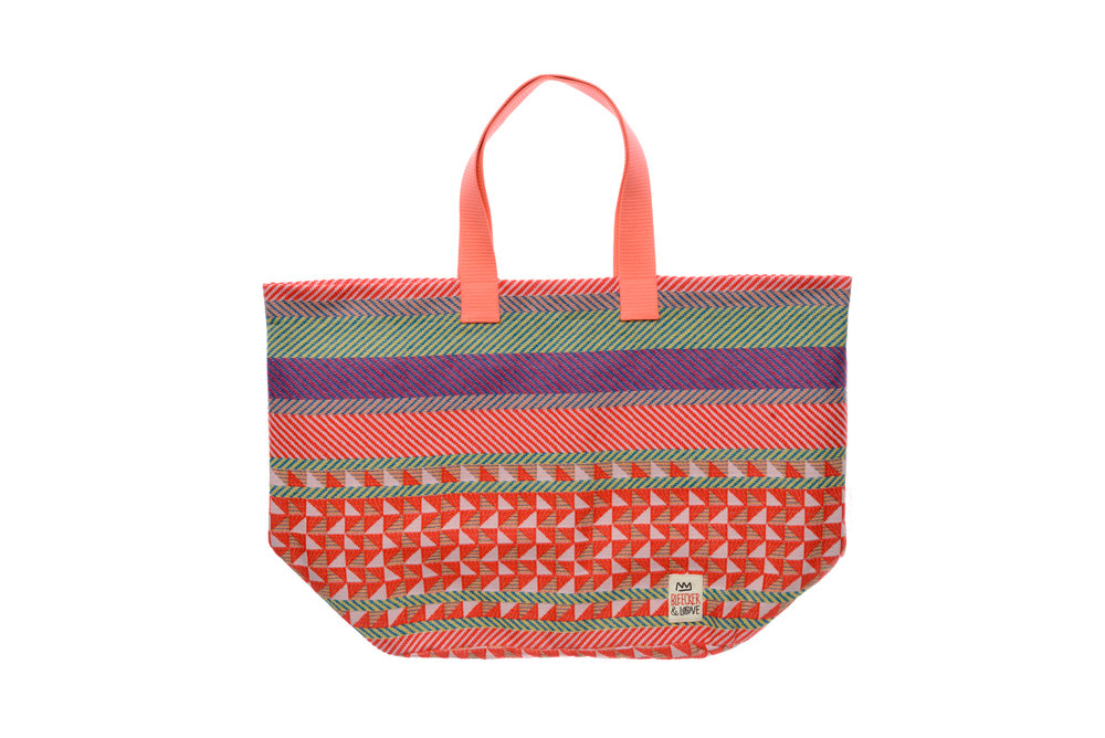BEACH BAG MOROCCAN ORANGE