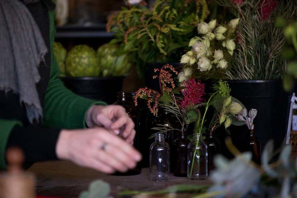 Queen of Stems. Castlemaine Florist. Wedding Flowers. Laura Noonan.