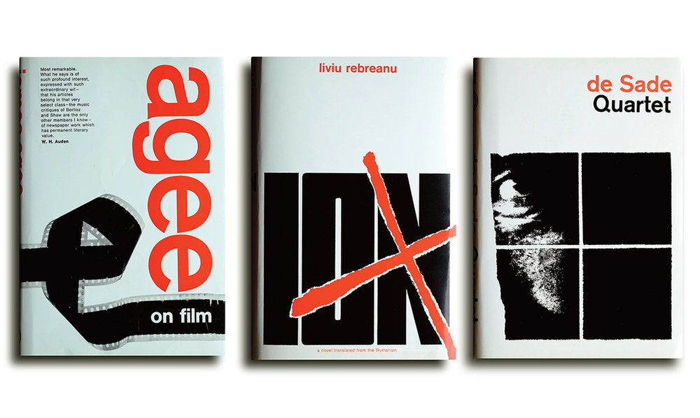 Cunningham's graphic design work