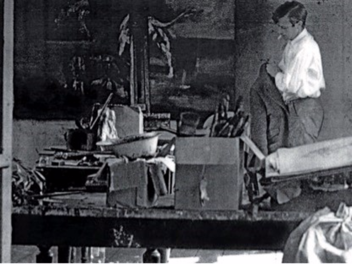 Cunningham in his Chelsea studio.