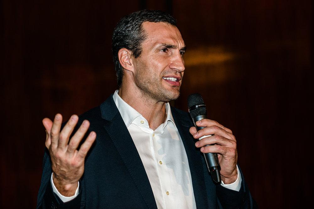 Wladimir Klitschko keynote speaker