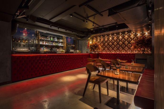 MNKY HSE bar area