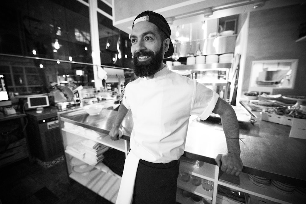 Head chef and owner Yuma Hashemi