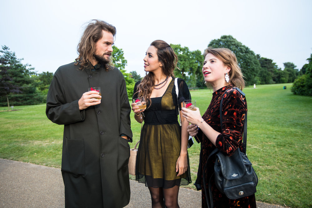Esteemed perfumer Barnabé Fillion, journalist Christabel Milbanke and editor of Scottish Woman Magazine Cheryl Caira.