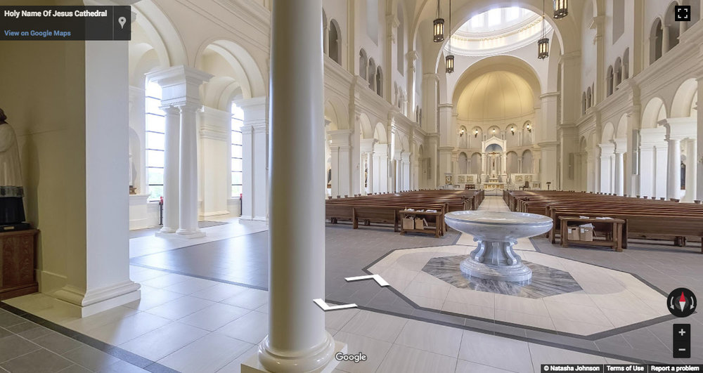 Holy Name of Jesus Cathedral - 715 Nazareth St, Raleigh, NC 27606