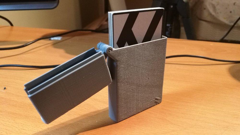 Zippo Business Card Holder — Pentland Designs