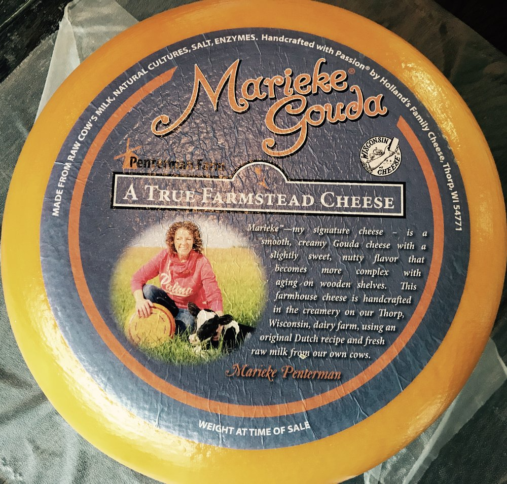 Marieke Gouda - Aged 10 months - our cheese of choice