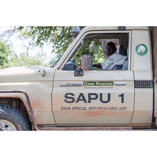 Mr Mulimo, Ngala February 2017. . . . #ranger #scout #africa #zambia #gri #gamerangersinternational #sapu #antipoaching #dswf #janusglobal #portrait #toyota #landcruiser #kafue #lakeitezhitezhi #tbp2017 #conservation