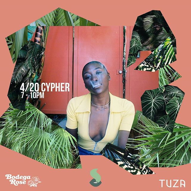 We took a brief hiatus. But, we're back on 4/20 and hosting a cypher with @tuzajewelry and @bodegarose. Come celebrate our favorite hazy holiday on Friday, April 20th with drinks, ~treats~, and music. And, stay tuned for what @thehighendsnyc has in store in the coming months. For more info on the cypher, just slide into our DMs. 🌿🌿