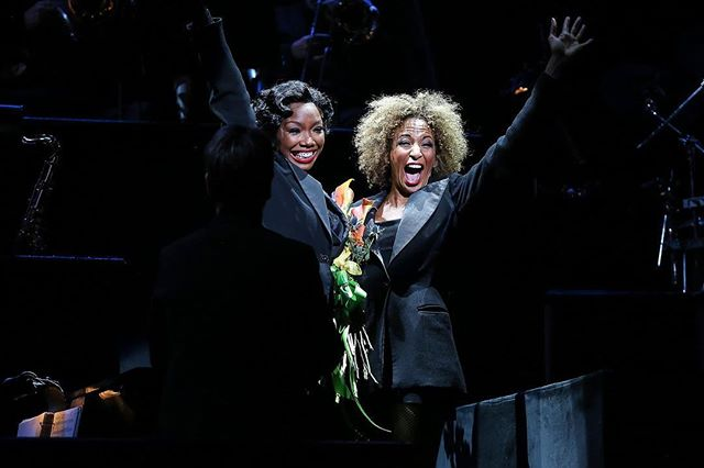 #Brandy Norwood and Lana Gordon Make Broadway History as Chicago the Musical's First Black Co-Leads #ChicagoMusical #Broadwayhistory #broadway #kanderandebb