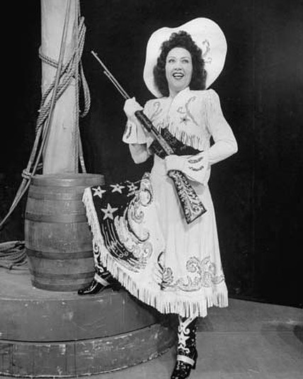 Who: #EthelMerman #RayMiddleton What: #AnnieGetYourGun When: May 15, 1946 #BroadwayHistory Where: #ImperialTheatre