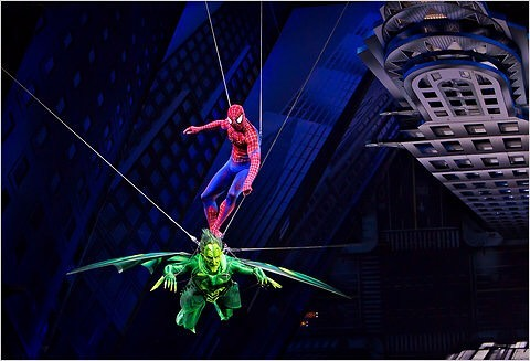 Who: @reevecarney @jenndamiano_ @pagepatrick What: @spideyonbway When: June 14, 2011 #BroadwayHistory Where: #FoxWoodsTheatre #spidermanturnoffthedark #musicaltheatre
