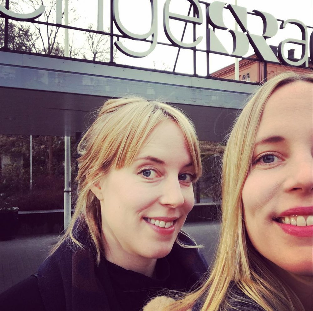 On the radio! - We were invited to talk about Loving Lorna at the Swedish Radio (P5). Listen to the whole radio program or just listen to some parts from it. Listen -----> here