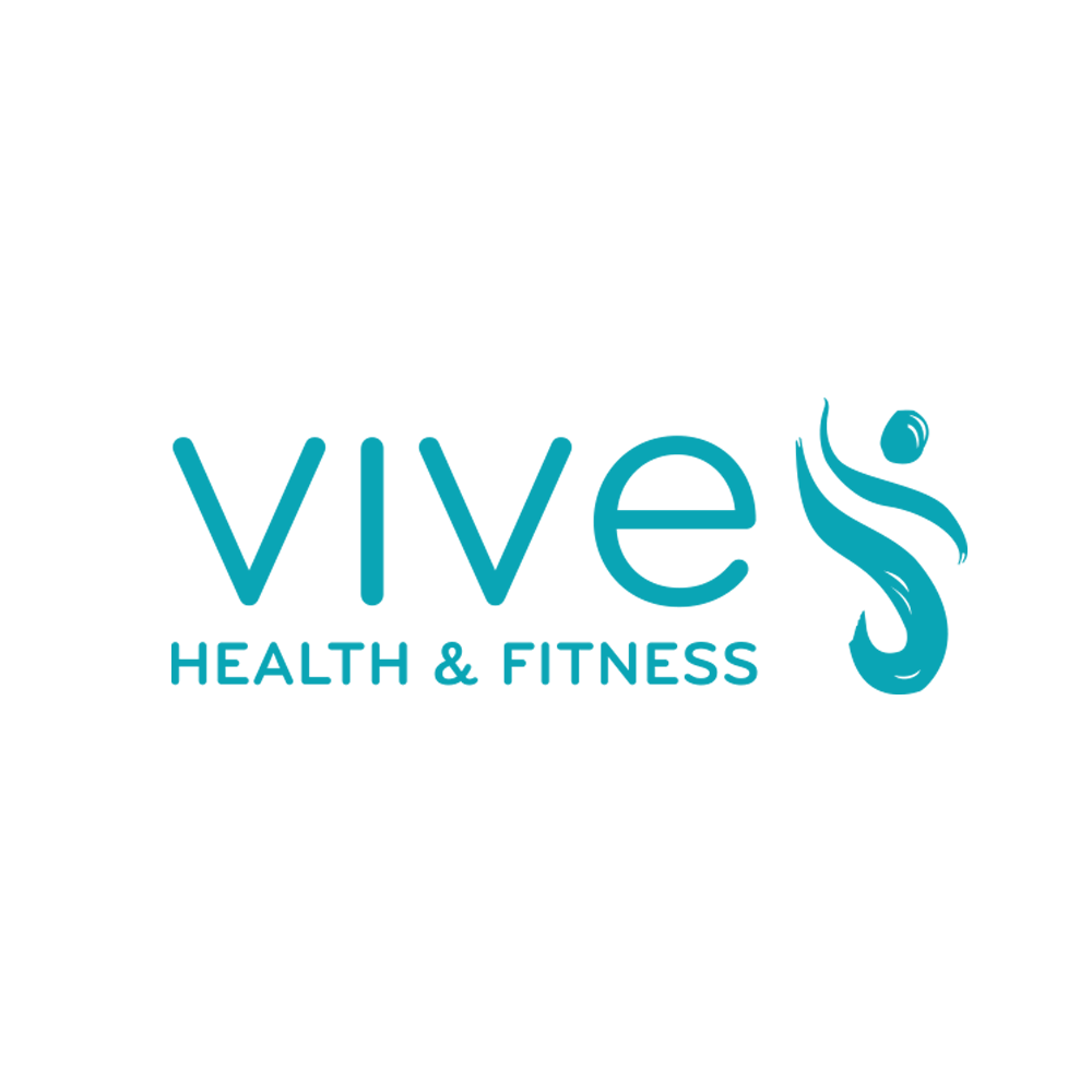 VIVE Health and Fitness   The challenge was to create a modern, fresh and upscale logo for a new and emerging Health and Fitness center.