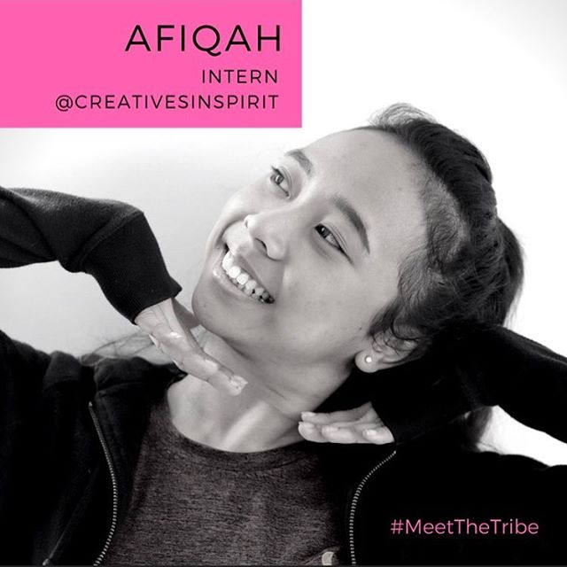 #MEETTHETRIBE🙍🏽♀️ Creatives Inspirit warmly welcomes Nur Afiqah into the team as an Intern!🎉 🎉  Nur Afiqah is currently studying at LASALLE College of the Arts. Her training includes dance genres such as Jazz, Contemporary, Ballet and Hip hop. She has a obtained a Diploma in Dance and is currently pursuing her BA(Hons) In Dance. Nur Afiqah is a cat lover, a bookworm and enjoys food hunting during her free time.  For more information on Nur Afiqah, Visit our website at (http://creativesinspirit.com/)