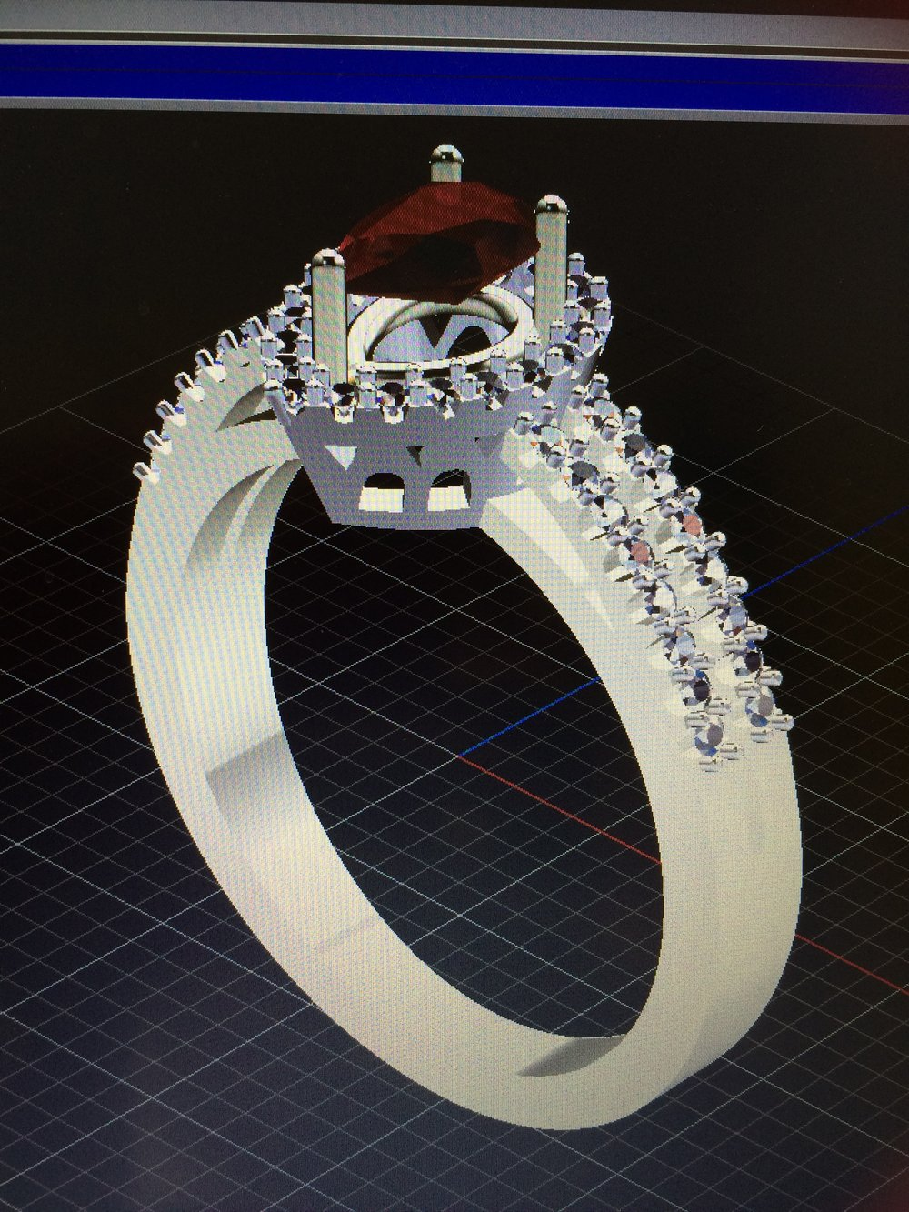 Turn your own personal designs into jewellery you can cherish forever. - C.A.D. Image