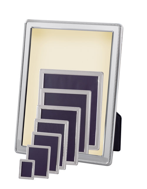 Silver Plated Picture Frame 3x4 inches — J.Parriss Jewellers