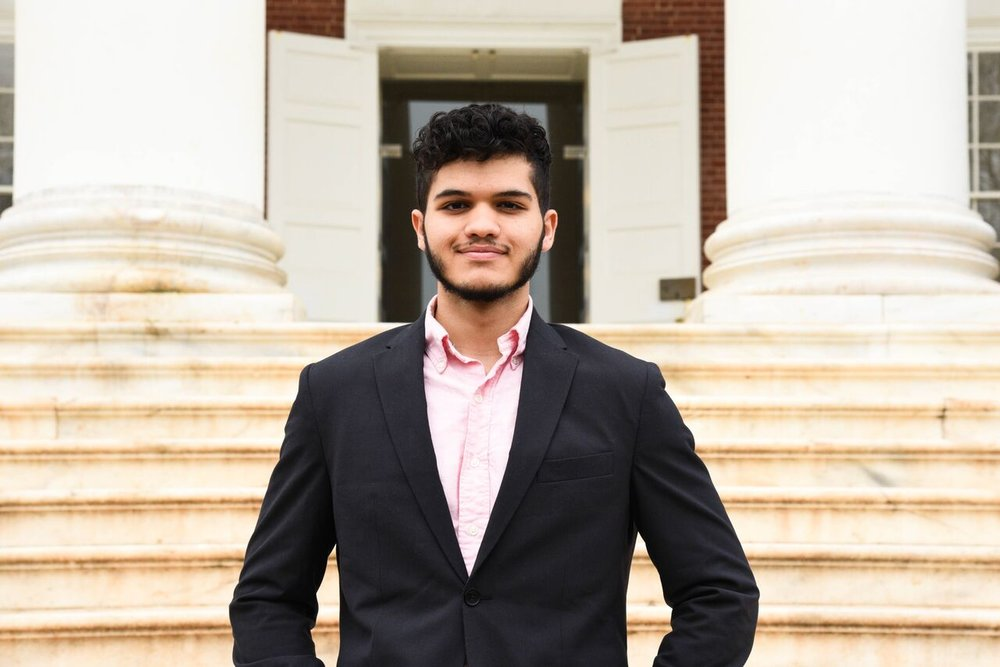 Ali is a third year Global Security and Justice major from Charlottesville, Virginia. Besides competing in high school Model UN with his hippy Quaker school and being on the UVA MUN travel team, he has previously staffed for VAMUN and was an ACD in the most recent VICS conference. He is a brother of the service fraternity, Alpha Phi Omega, and is a diehard Arsenal fan (although he dabbles in the Egyptian Premier League as well). He plans to one day be a benevolent monarch.
