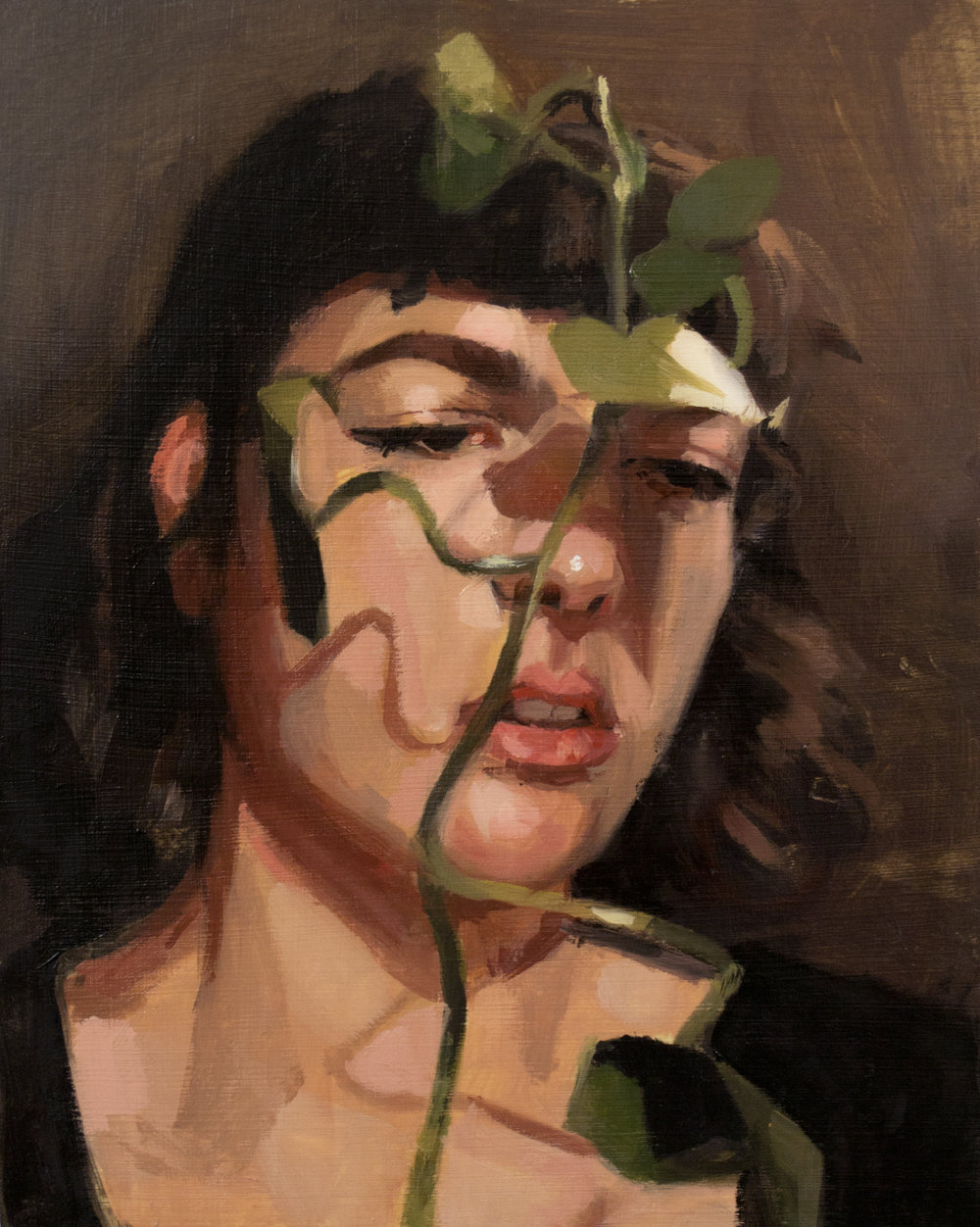 Self Portrait With Ivy