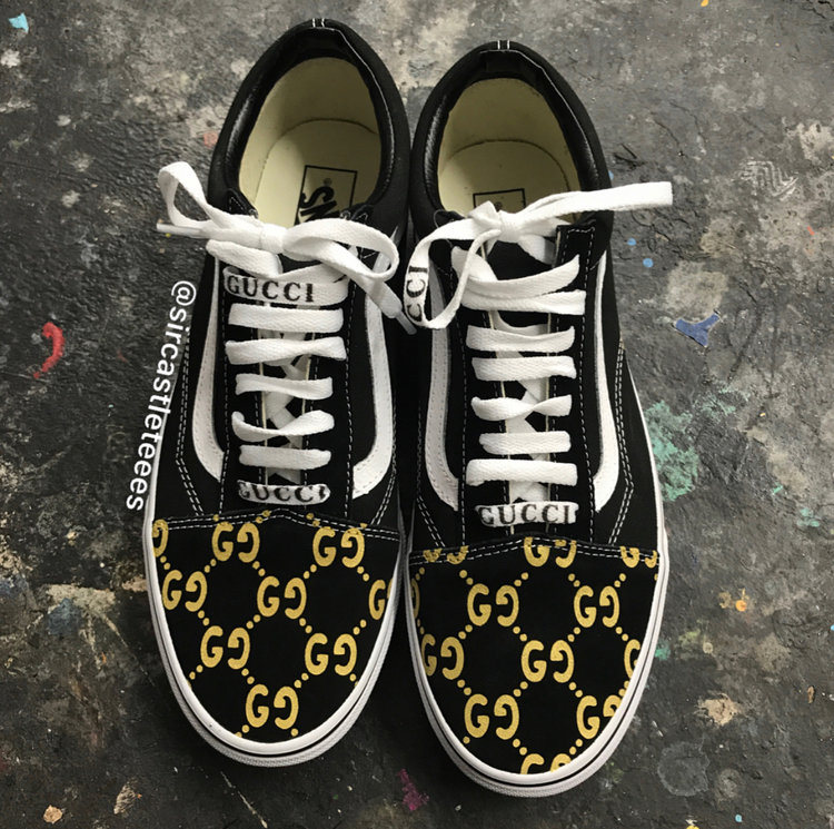 Gucci Vans SirCastleTees