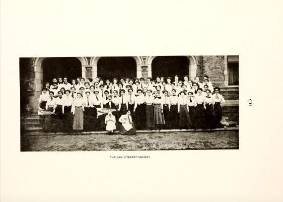 Thalian Literary Society 1910