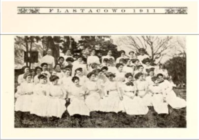 Thalian Literary Society 1911