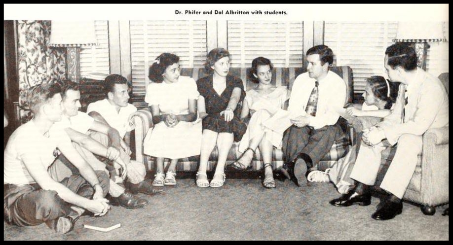 1951 - 1952 Florida State Debate Intramural Team
