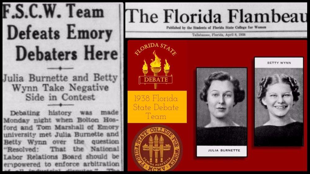 1938 Burnette & Wynn Defeat Emory