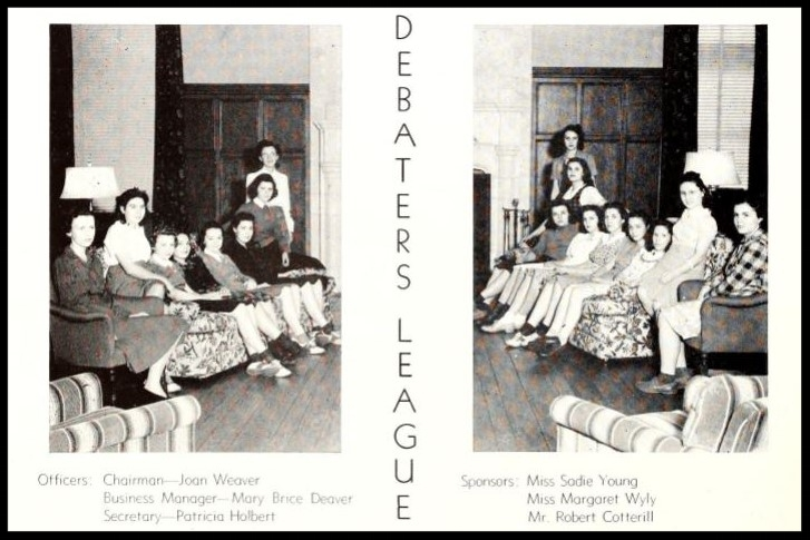 1940 - 1941 Debaters League