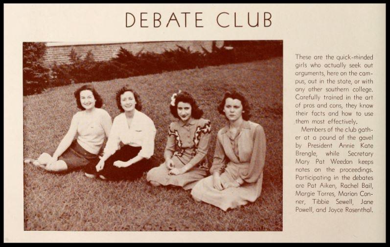 1943 - 1944 Debate Club
