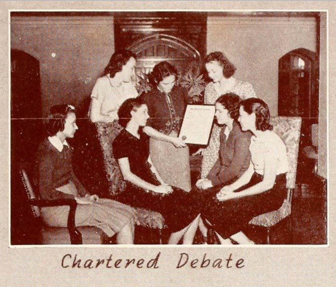 1939 - 1940 - Photo: Florida State University Libraries, 1940