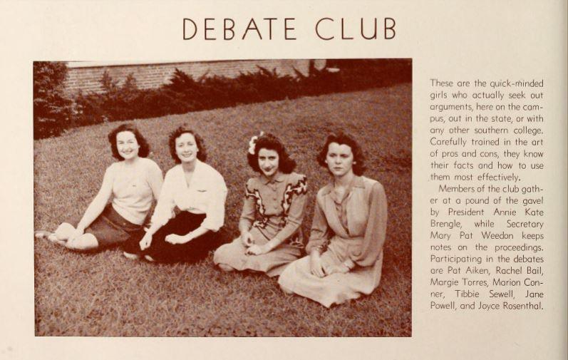 1943 - 1944 - Photo: Florida State University Libraries, 1944
